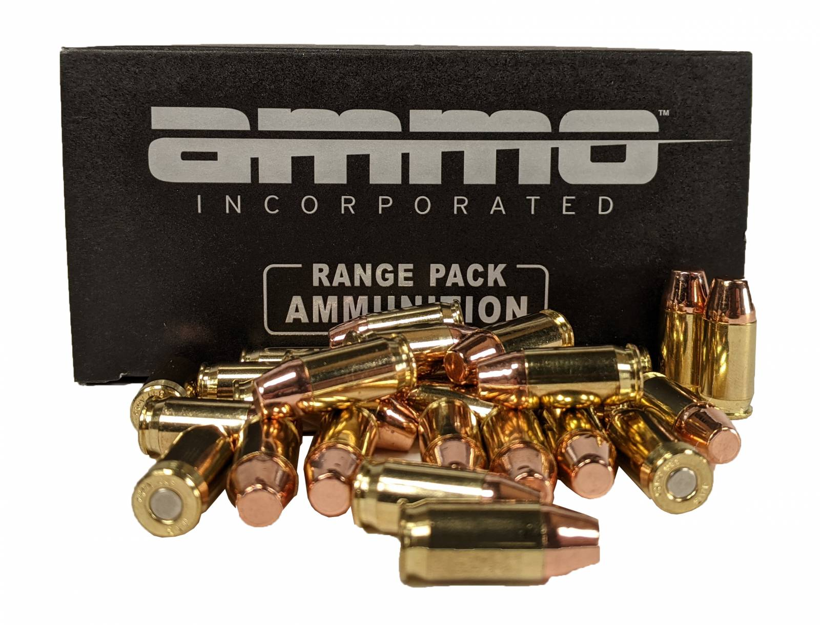 Ammo Inc 380 Auto 124gr TMC-FP 500rd Range Pack