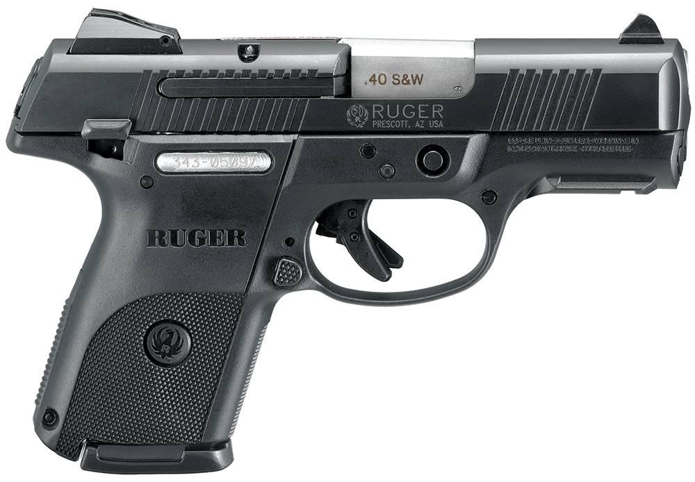 """Most 5/"""" Auto Nylon Shoulder Holster  Ruger SR 9 SR 40  with Laser"""