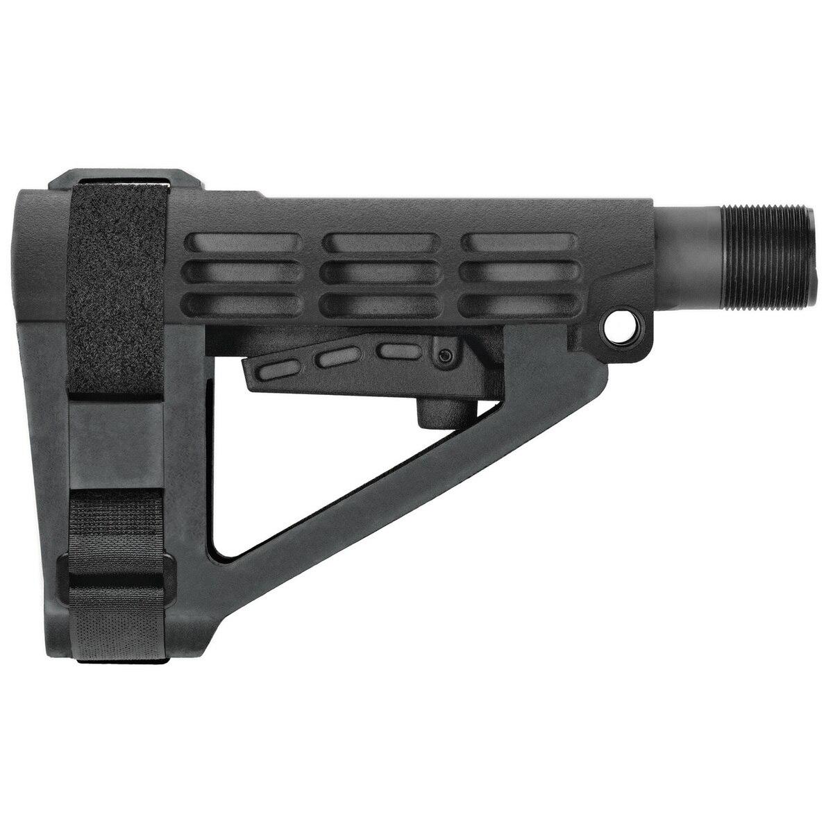SB Tactical SBA401SB SBA4 A4 AR Platforms Black 6-Position Adjustable